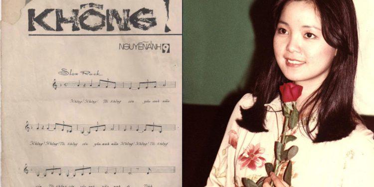 Câu chuyện về bài hát 'Không' của Nguyễn Ánh 9 và diva người Đài Loan – Đặng Lệ Quân