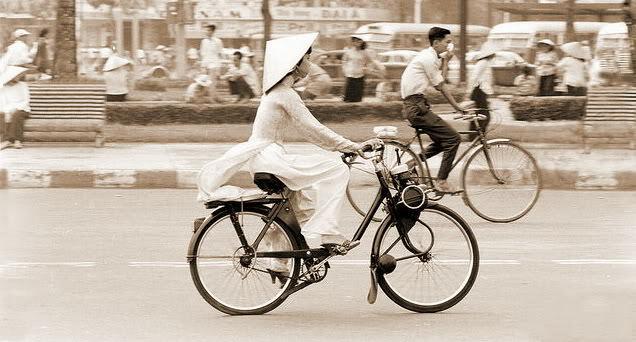 xe đạp sài gòn thời xưa
