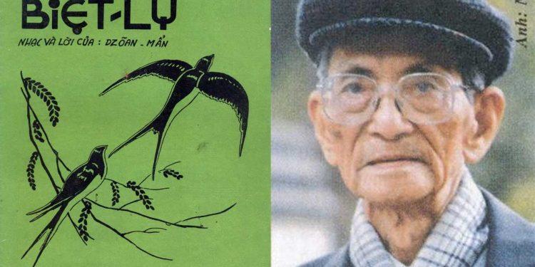 """Nhạc sĩ Doãn Mẫn và hoàn cảnh sáng tác ca khúc """"Biệt Ly"""" hơn 80 năm trước: """"Biệt ly, nhớ nhung từ đây…"""""""
