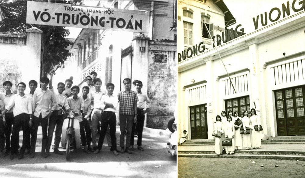 Hình ảnh của những ngôi trường nổi tiếng nhất Sài Gòn xưa - Phần 3: Võ  Trường Toản và Trưng Vương